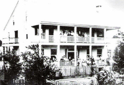 Goos' Home in Goosport (Courtesy Archives and Special Collections at Frazar Memorial Library, McNeese State University)