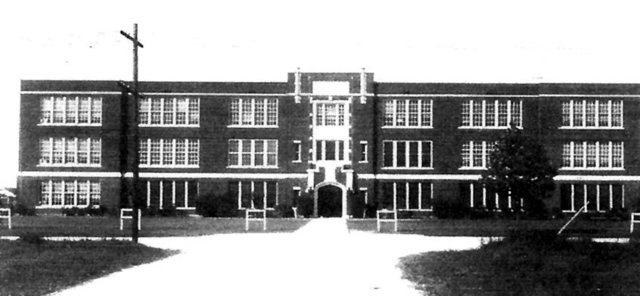 Old Nederland High in 1920's